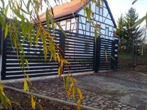 Gartentor mit Modell Amsterdam Aluminium Nr. 8