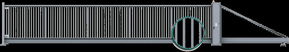 Industrie Schiebetor PI 200 25x25