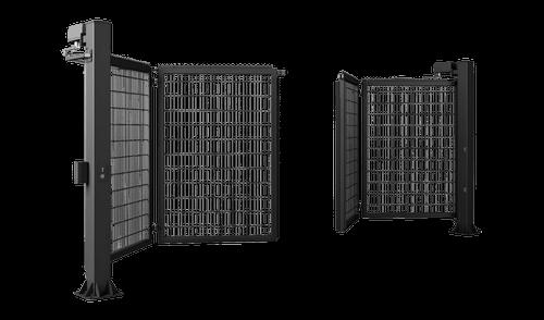 Zweiflügeliges Tor V-KING mit Gitterzaunfüllung VEGA 2D Super