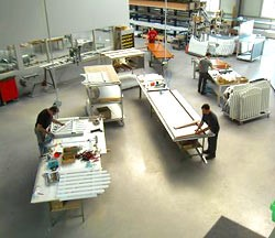 Herstellung von Schmuckzäunen