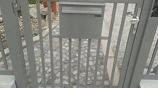 Modell Siena mit eingebautem Briefkasten